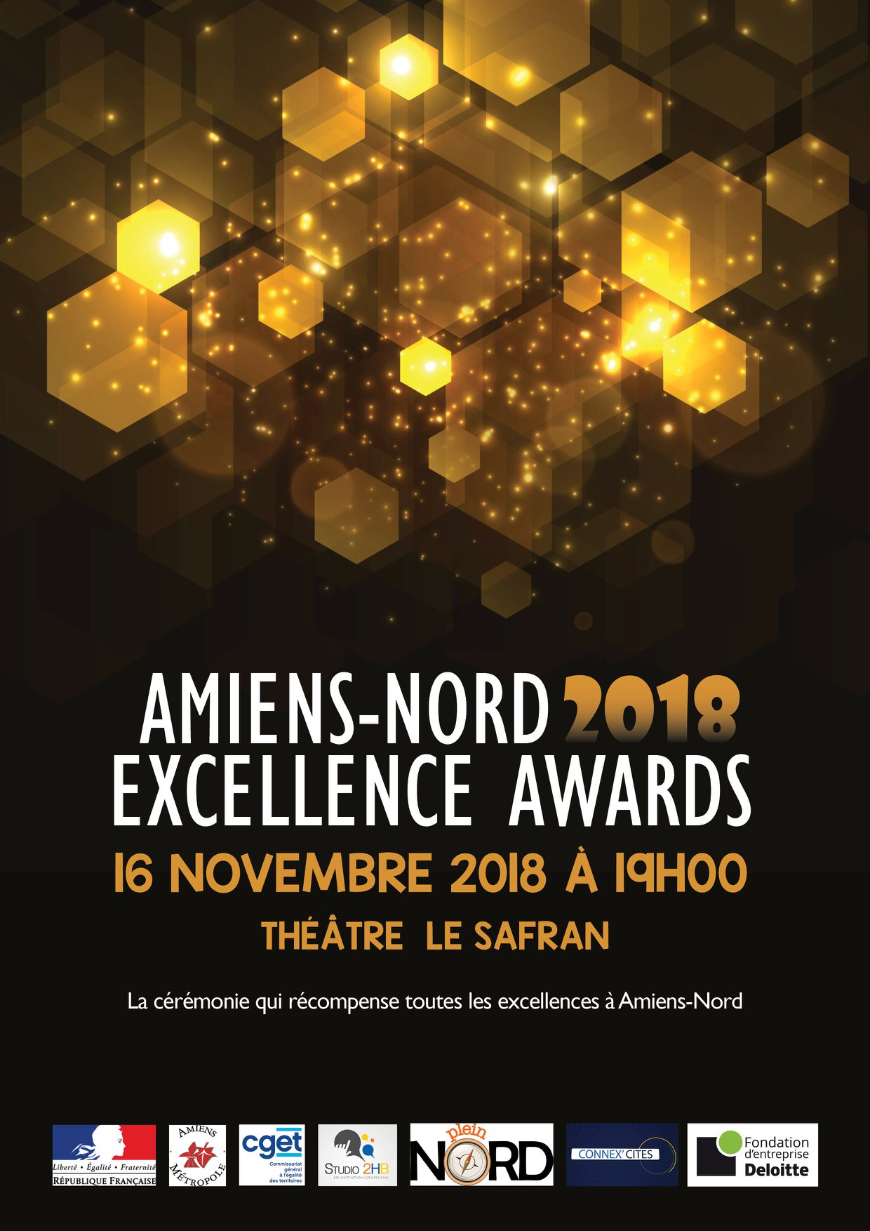 Amiensnord awards affiche